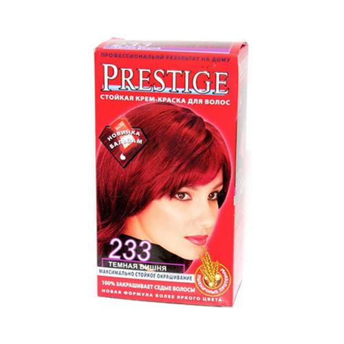 Крем-краска для волос Темная вишня Vip's Prestige Роза Импекс 100 ml