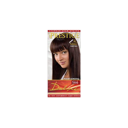 Крем- краска для волос Натуральный шоколад Prestige Deluxe Роза Импекс 140 ml