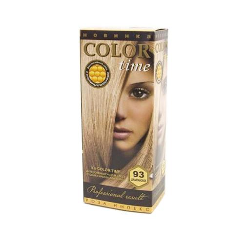 Гель- краска для волос Шампанское Color Time Роза Импекс 100 ml