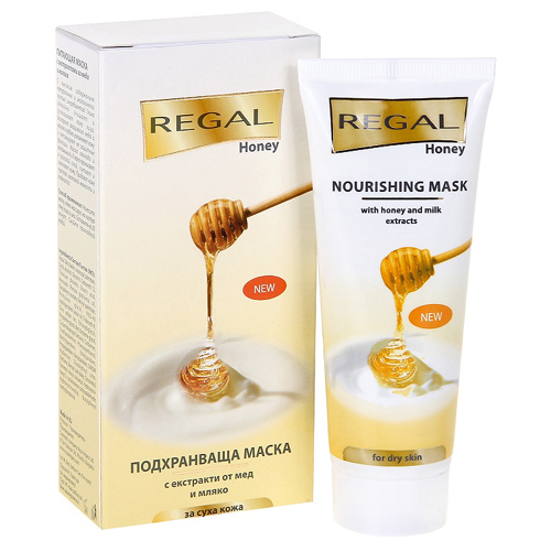 Маска питающая с экстрактами из меда и молока Regal Honey Роза Импекс 75 ml