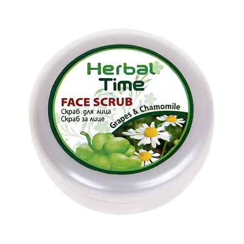 Скраб для лица Herbal Time Роза Импекс 250 ml