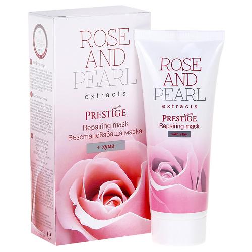 Маска восстанавливающая для лица Vip's Prestige Rose@Pearl Роза Импекс 75 ml