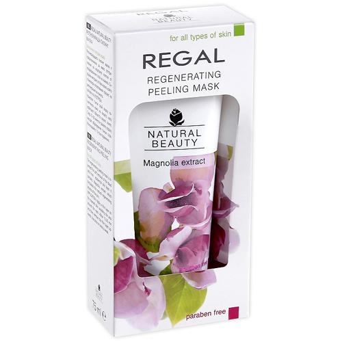Пилинг- маска для всех типов кожи Regal Naturel Beauty Роза Импекс 75 ml