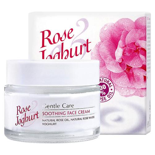 Успокаивающий крем для лица Rose Йогурт Болгарская Роза Карлово 50 ml