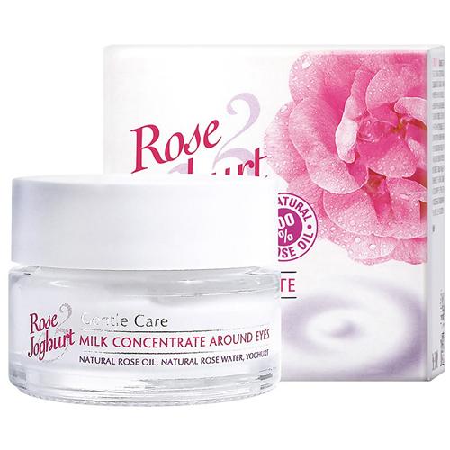 Молочный концентрат для кожи вокруг глаз и губ Rose Йогурт Болгарская Роза Карлово 15 ml