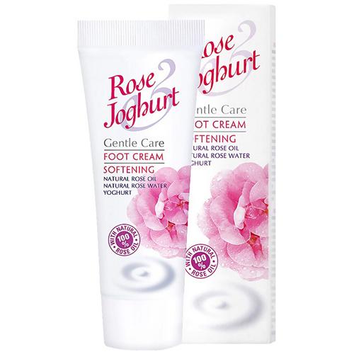 Крем для ног смягчающий Rose Йогурт Болгарская Роза Карлово 75 ml
