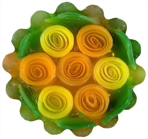 Мыло натуральное глицериновое Болгарская Роза Карлово 120 gr