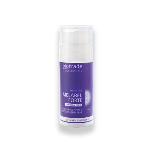 Крем Отбеливающий с тройным действием для кожи MELABEL WHITENING Биотрейд 30 ml