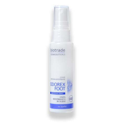 Спрей против потоотделения ног ODOREX FOOT Биотрейд 50 ml