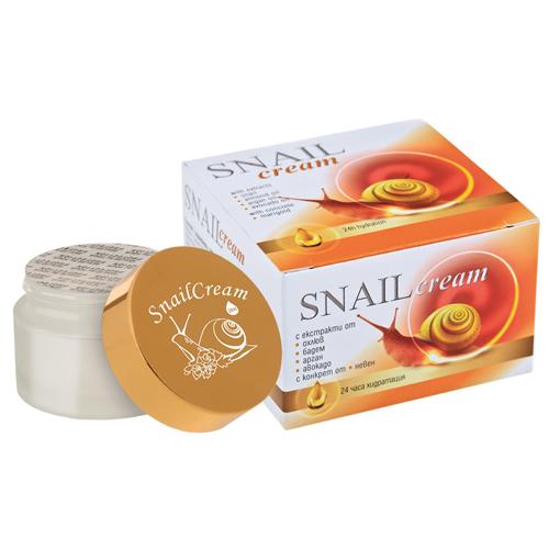 Восстанавливающий крем для лица 24 часа увлажнения Golden Snail 30 ml
