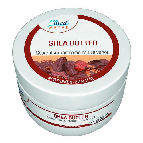 Крем с маслом Ши и оливковым маслом Экомед 220 ml