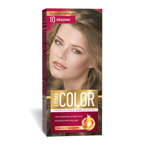 Крем- краска для волос № 10 Орех Aroma Color 45 ml