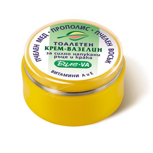 Косметический крем- вазелин Биле VA для потрескавшейся кожи рук и ног Боди-Д 40 ml