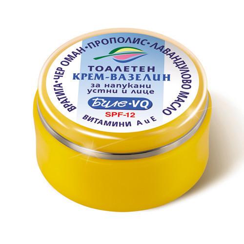 Косметический крем- вазелин Биле VQ для потрескавшейся кожи губ и лица Боди-Д 40 ml