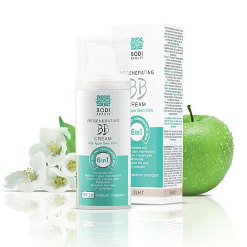 Регенерирующий BB крем 6 в 1 для жирной и смешанной кожи Medium 2 Боди-Д 30 ml