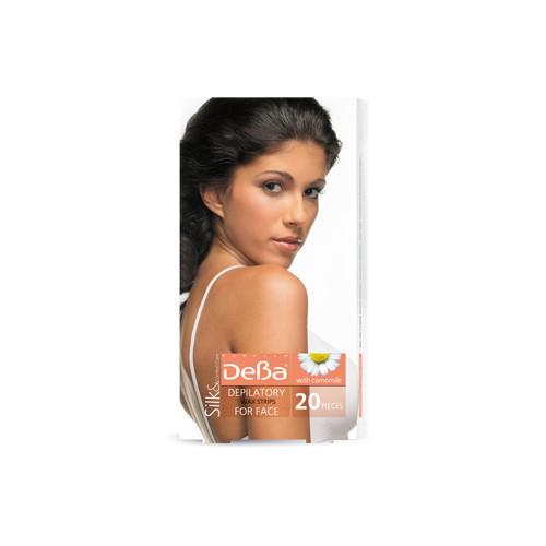 Депилирующие ленты для лица Дева Silk&Comfort Care Rubella