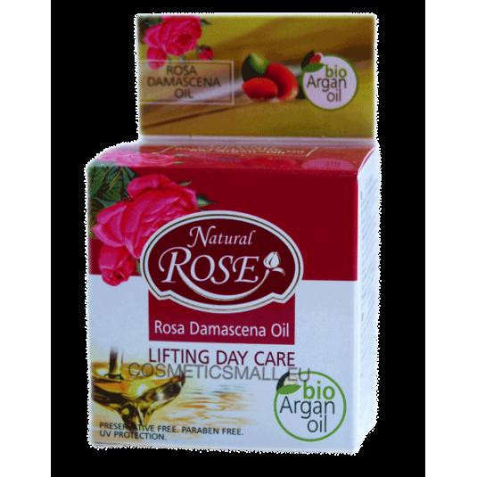 Лифтинг дневной уход Natural Rose Bio Argan oil Arsy cosmetics 50 ml