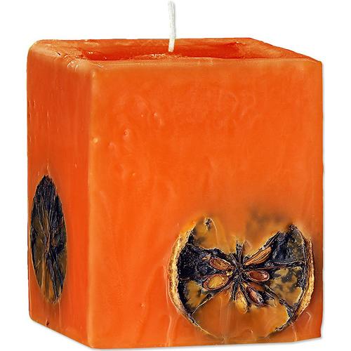 Ароматическая свеча Апельсин и Шоколад