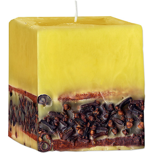 Ароматическая свеча с эфирным маслом Корицы