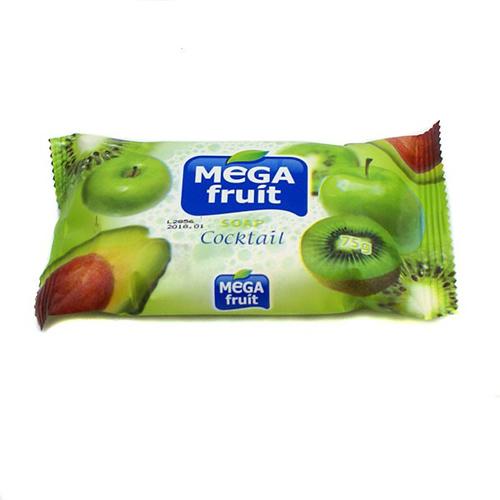 Мыло натуральное Megafruit зеленый коктейль 75 gr
