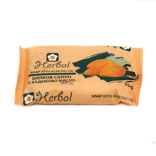 Мыло с миндальным маслом Herbal 75 gr