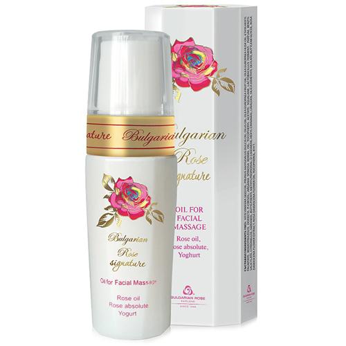 Массажное масло для лица Bulgarian Rose Signature Болгарская Роза Карлово 35 ml
