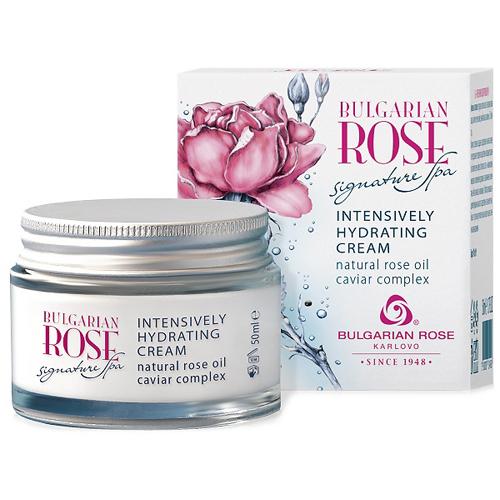 Интенсивно увлажняющий крем для лица Bulgarian Rose Signature Spa Болгарская Роза Карлово 50 ml