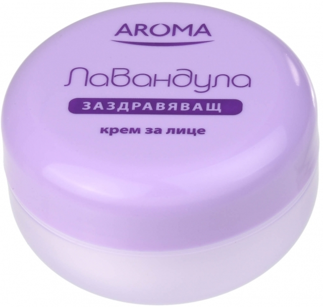 Крем для лица оздоравливающий Лаванда Арома 75 ml