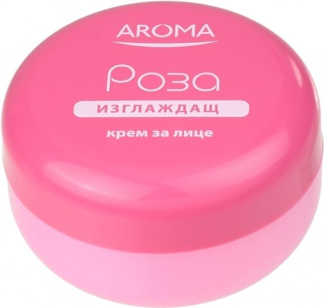 Крем для лица разглаживающий морщины с конкретом Розы Арома 75 ml