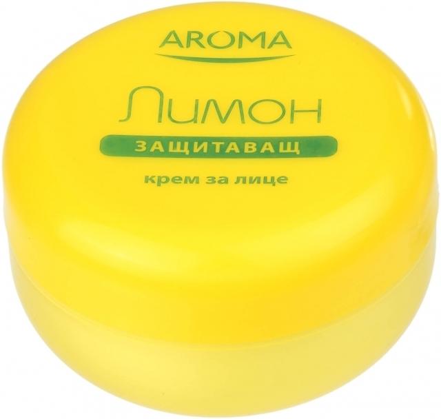 Крем для лица с защитным действием Лимон Арома 75 ml