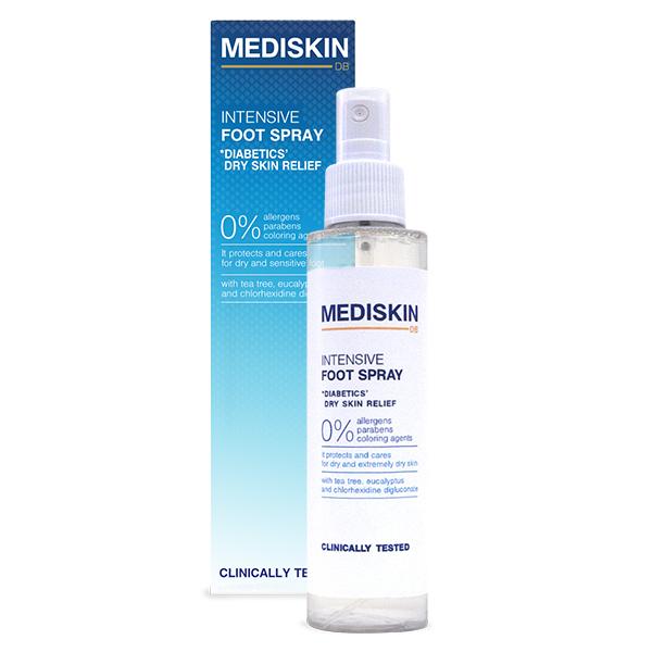 Интенсивный спрей для ног Mediskin 135 ml