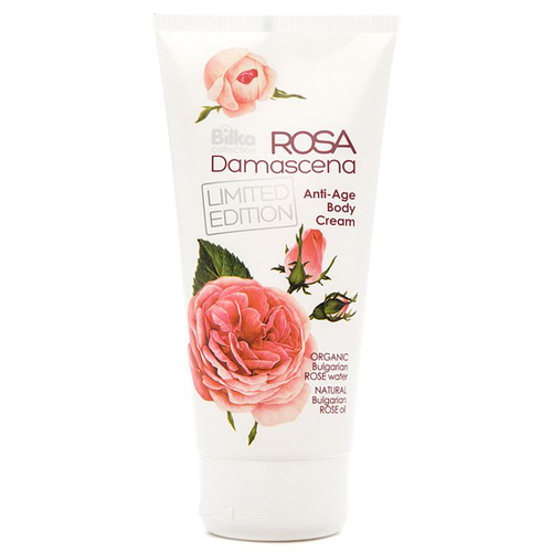 Крем для тела Anti-Age омолаживающий Rosa Damascena Билка 180 ml