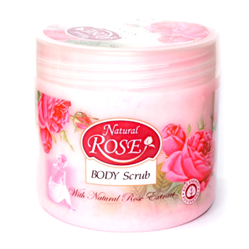 Глубоко очищающий скраб для тела Natural Rose Arsy Cosmetics 350 ml