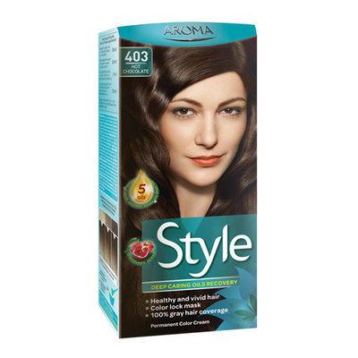 Краска для волос № 403 Горячий шоколад Aroma Style 60 ml