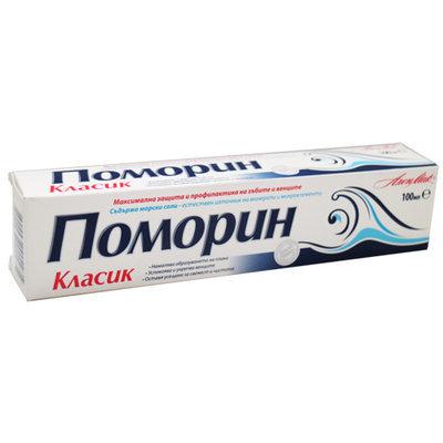 Паста зубная classic Pomorin 100 ml