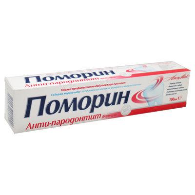 Паста зубная anti parodontosis Pomorin Ален Мак 100 ml
