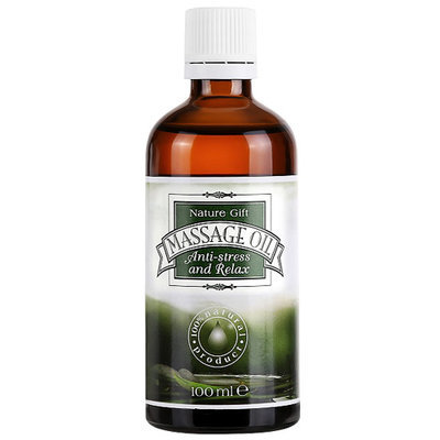 Масло для массажа Антистресс и Релаксация  Дар природы 100 ml