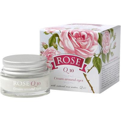 Крем для кожи вокруг глаз Q10 Rose с розовым маслом Болгарская Роза Карлово 15 ml