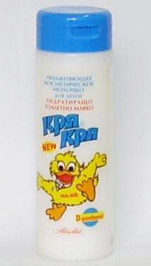 Увлажняющее туалетное молочко с D- пантенолом Кря-Кря Ален Мак 170 ml
