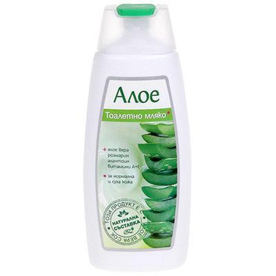 Туалетное молочко с алоэ Вера Роза Импекс 200 ml