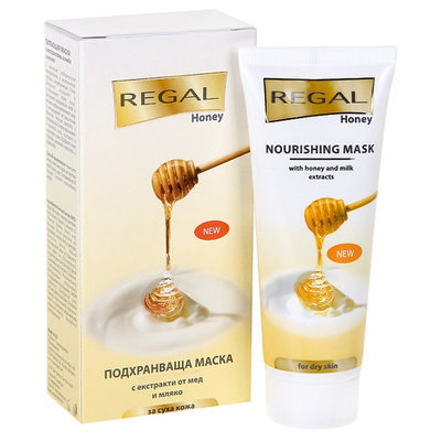 Маска питающая с экстрактами из меда и молока Regal Honey Роза Импекс 75 ml