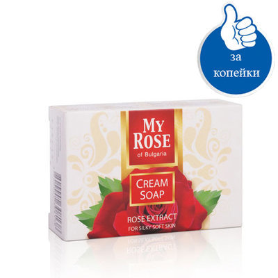 Крем- мыло My Rose of Bulgaria Лавена 75 gr