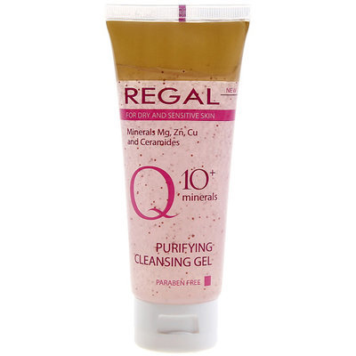 Гель очищающий для умывания с минералами Regal Q10+ Роза Импекс 50 ml