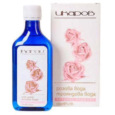 Розовая вода Икаров 125 ml