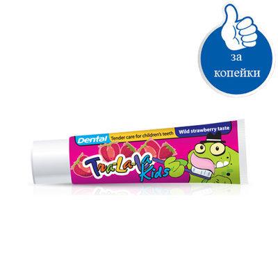 Детская зубная паста Земляника Dental Kids Rubella 50 ml