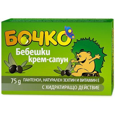 Крем- мыло для детей с оливковым маслом и пантенолом (витамином В5) Лавена Baby Ёжик 75 gr