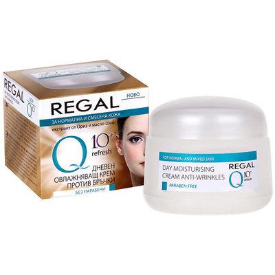 Дневной увлажняющий крем против морщин Refresh с экстрактом риса Regal Q10+ Роза Импекс 50 ml