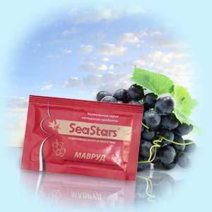 Питательная маска Виноград SeaStars Природная косметика 15 ml