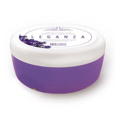 Скраб для тела с лавандовым маслом и йогуртом Антистресс Leganza