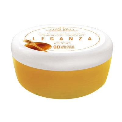 Скраб для тела с медом и молоком Наслаждение Leganza